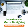 Importance of Menu Design