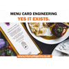 Art of Menu Engineering