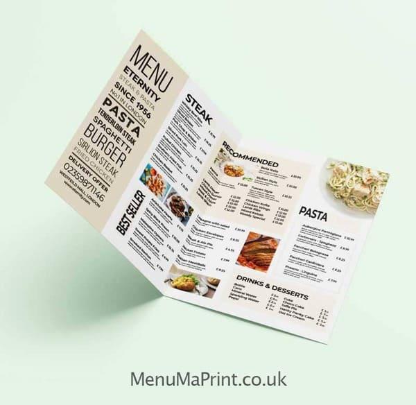 A3 Restaurant Menus