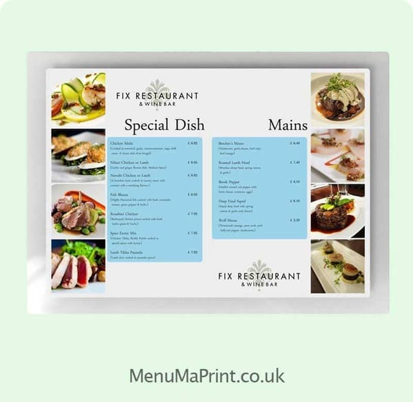 Encapsulated Menus/Leaflets