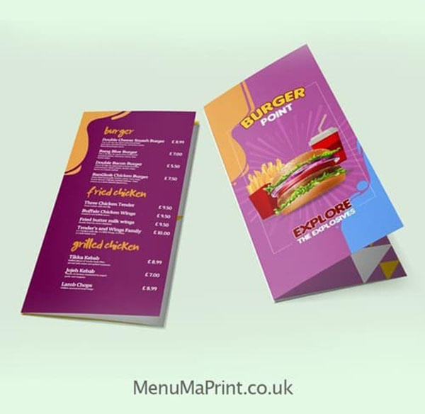 Roll Fold Leaflet Printing